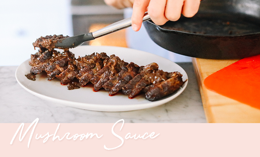Mushroom Sauce Recipe