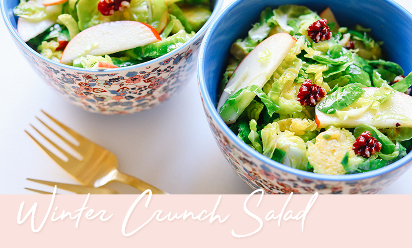 Winter Crunch Salad Recipe