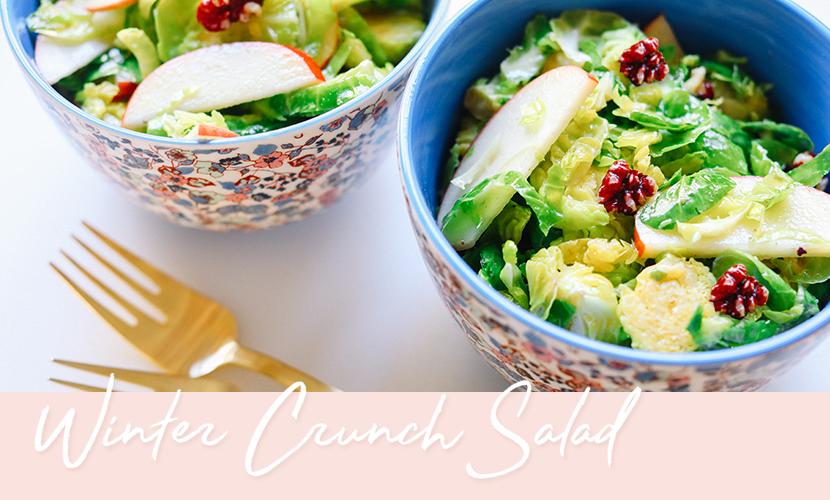 Winter Crunch Salad Recipe