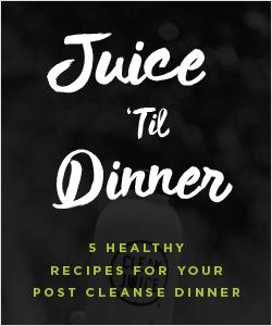 LivLight featured in Clean Juice's Juice 'Til Dinner