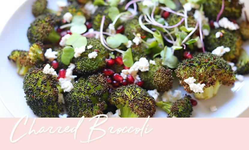 Charred Broccoli Recipe