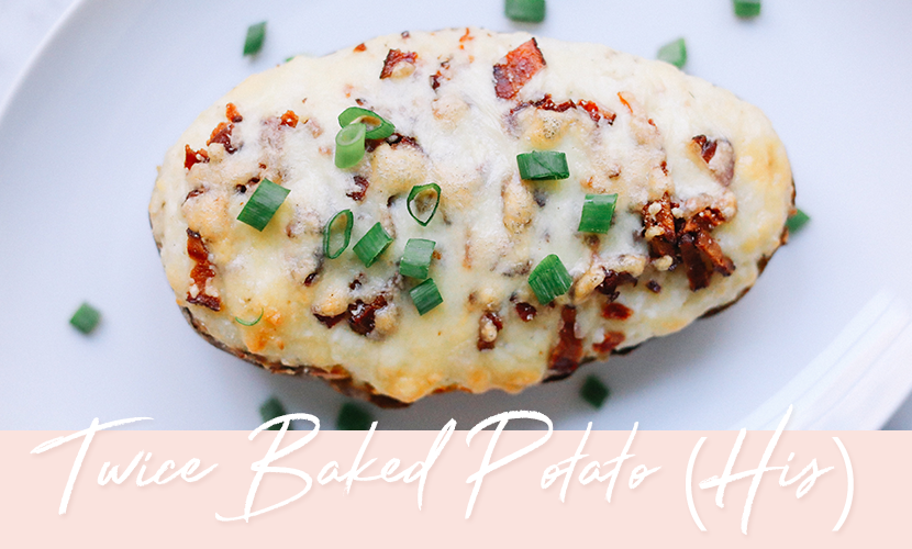 Twice Baked Potato Recipe